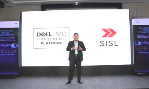 SISL-Director addressing the event Real Innovation Demands IT Transformation
