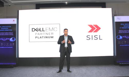 SISL-Director addressing the event Real Innovation Demands IT Transformation