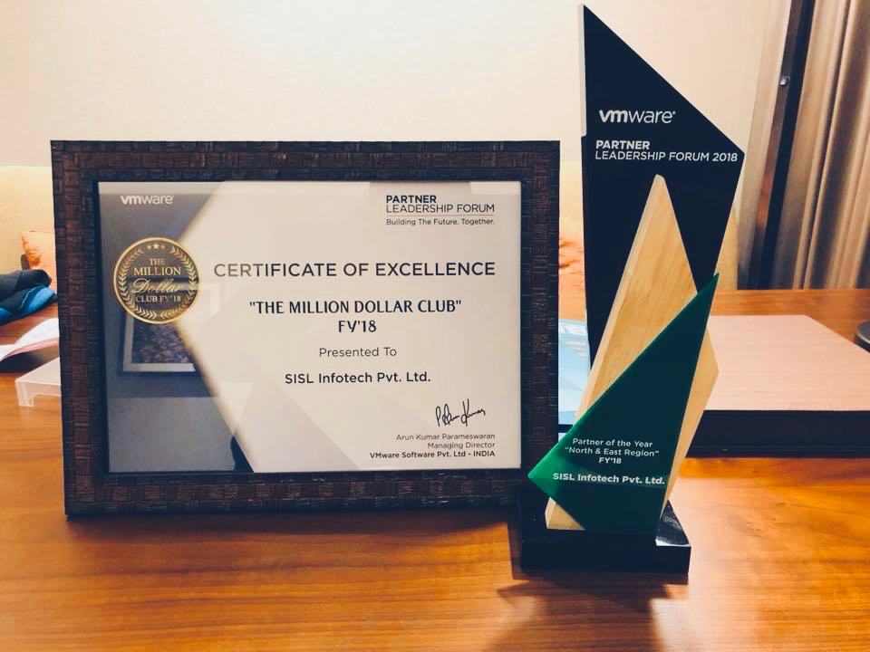 Awarded by VMWARE