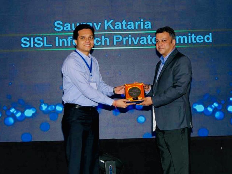 Awarded by Hewlett Packard Enterprise