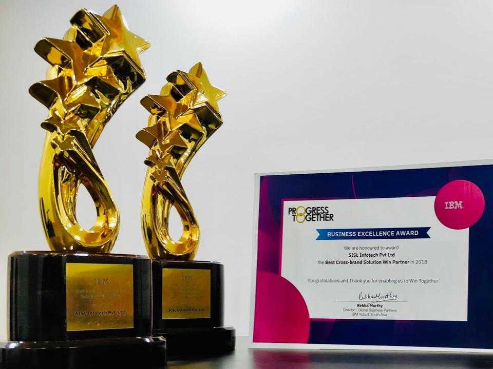Awarded by IBM